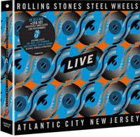 The Rolling Stones. Steel Wheels Live (2 CD + Blu-Ray)